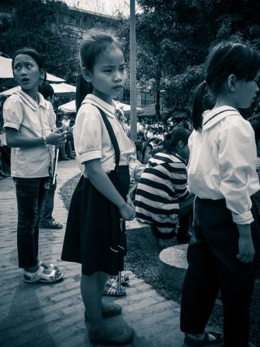 Child in Ethnic Museum